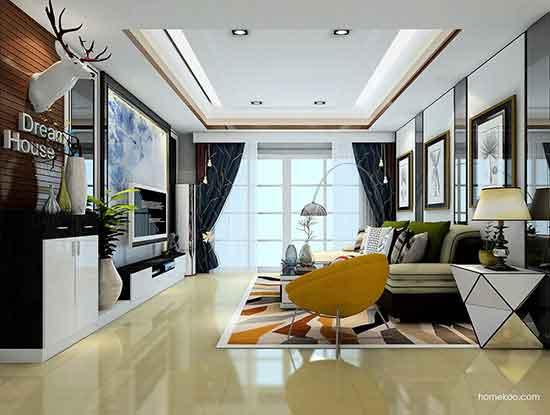 客厅小户型设计图,充分利用空间