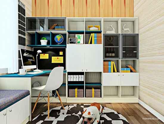欧式书柜图片,带来与众不同的魅力