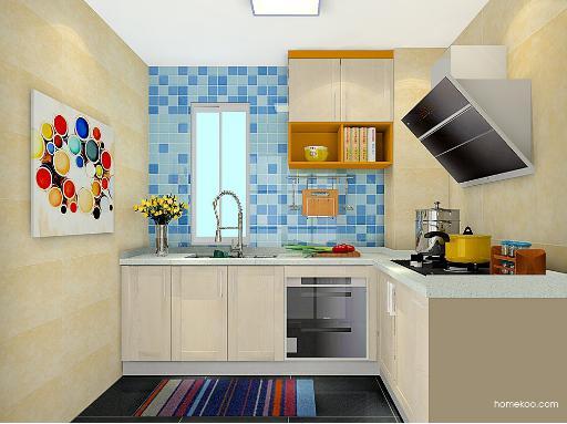怎样设计厨房橱柜