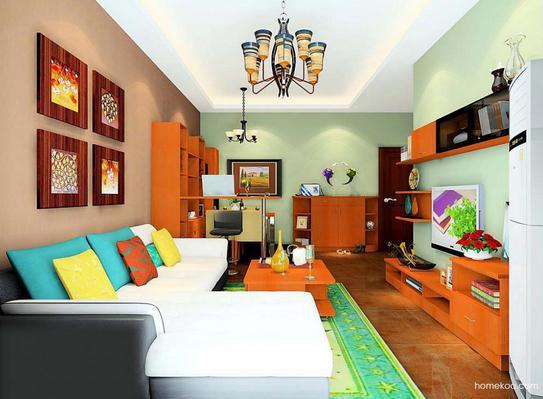 东南亚客厅装修风格效果图