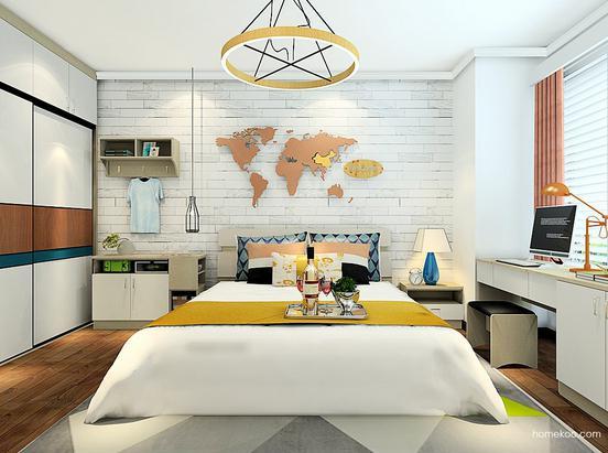 卧室壁纸装修效果图大全