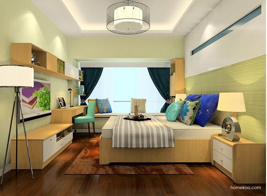 2017美式卧室装修风格欣赏