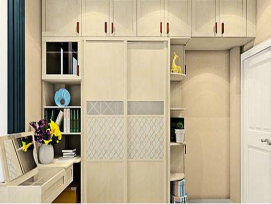好莱客整体衣柜图片,合理利用空间