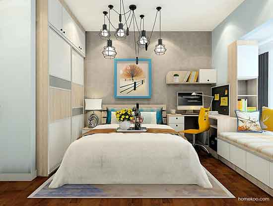 家装现代简约风格,简单而有意境!