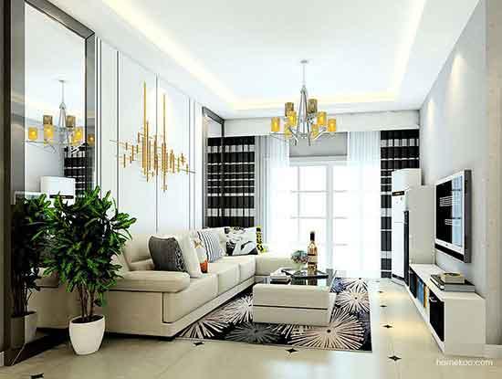 沙发背景墙图片欣赏,符合你的生活品味和习惯