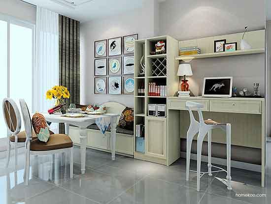 家居吧台装修效果图,让家更有味道!
