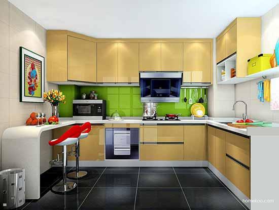 开放式厨房吧台装修图片,冲击你的视觉感受
