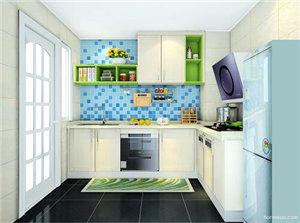 整体厨房设计效果图欣赏