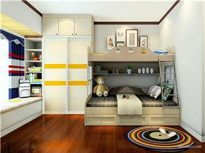 双层儿童床图片,为你挑选小孩超喜欢的家具