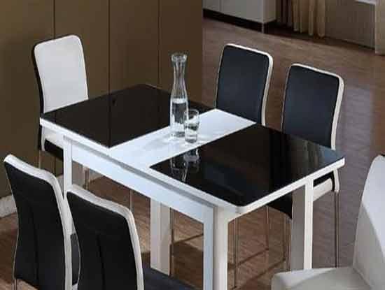 钢化玻璃餐桌,让你尽情享受美食
