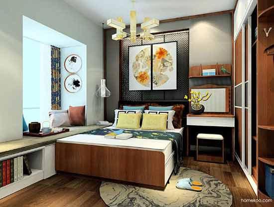 家装中式风格效果图,彰显出王者风范