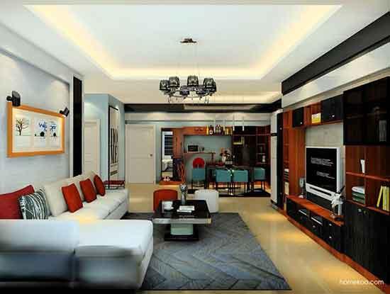大厅欧式装修效果图,追求完美品质!
