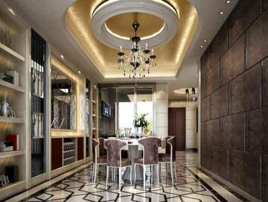 别墅欧式装修效果图,赋予空间不一样的魅力