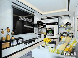 客厅电视背景墙效果图现代简约