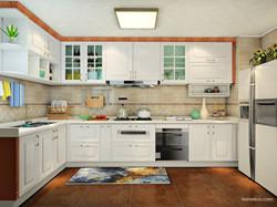 厨房橱柜架子效果图欣赏
