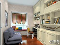 书柜风格效果图,哪一种你更喜欢?