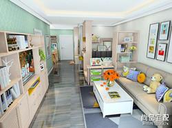 日式简约客厅装修效果图欣赏