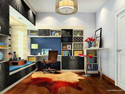 室内书房设计效果图大全欣赏
