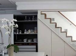 楼梯间厨房装修效果图大全欣赏