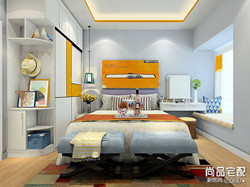 卧室床头墙装修效果图,哪种好?