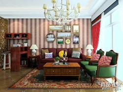 美式客厅装修效果图,哪种好?