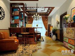 原木欧式客厅装修效果图欣赏