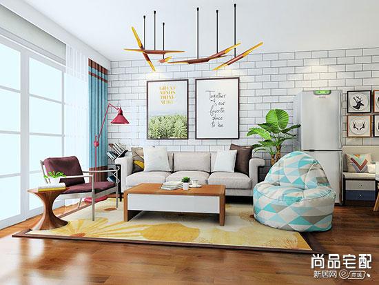 小沙发背景墙效果图欣赏