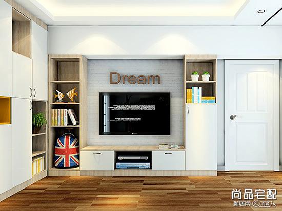 客厅储物柜效果图