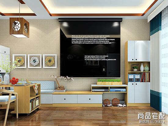 组合电视柜效果图设计