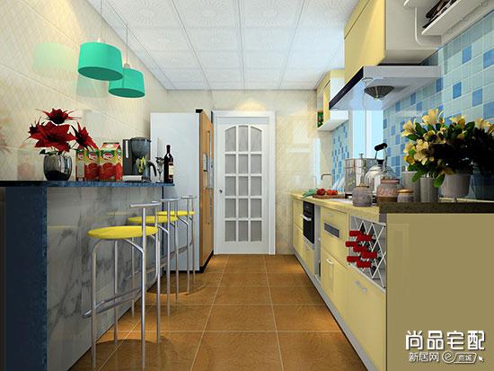 现代简约风格厨房设计效果图