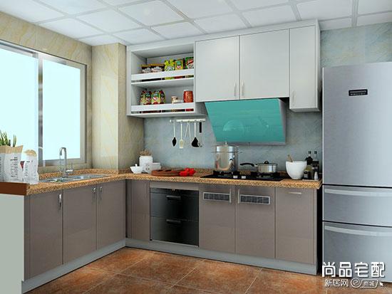 现代化厨房装修图