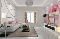 时尚客厅吊顶设计案例