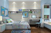 多姿多彩的儿童房设计效果图