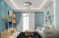 小户型简欧风格客厅设计图片