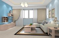 美观大方地中海风格客厅装修效果图