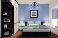 17平米卧室装修效果图