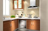 华丽成熟6平米小户型厨房设计效果图