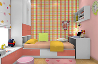 女儿童房装修效果图