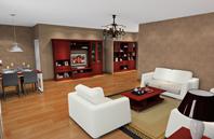 明亮、大方、非凡气度的客厅效果图