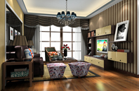 简欧风格2013年小客厅装修效果图欣赏