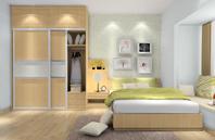 清新素雅的卧房装修效果图