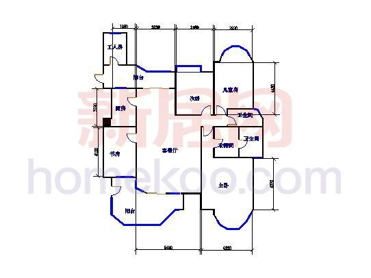 8座02单元4室3厅2卫186.92�O