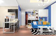 低调奢华装修风格单身公寓