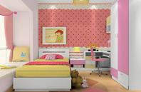 公主房间-女孩儿童房效果图