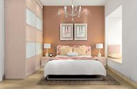 80后小夫妻卧室装修效果图大全2012图片