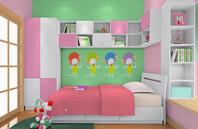 儿童房飘窗利用效果图