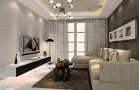 纯正北欧风格客厅装修效果图