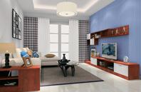 清爽简洁现代风格卧室装修效果图