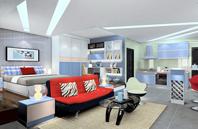 40平单身公寓装修