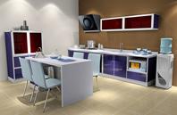 20平方米开放式厨房设计